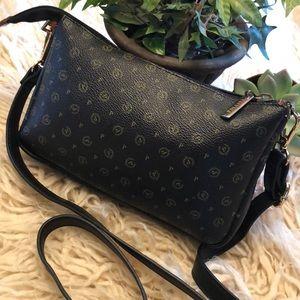 LIKE NEW-Pollini leather crossbody purse